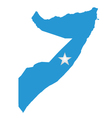 Somalia flag vector