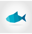Abstract fish vector