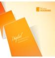 Orange paper vector
