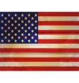 Wood planks usa flag vector