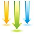 Colorful arrow vector