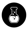 Laboratory equipment icon vector
