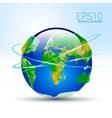 Earth-planet vector