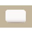 Business card blank vector