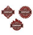 Logo for a construction company vector