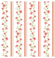 Color flower wallpaper vector