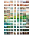 Professional set blurred background vector