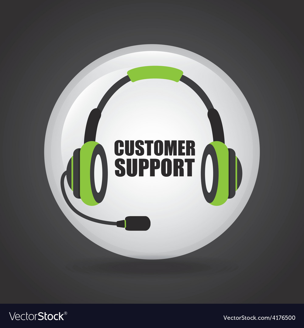 Costumer support vector | Price: 1 Credit (USD $1)