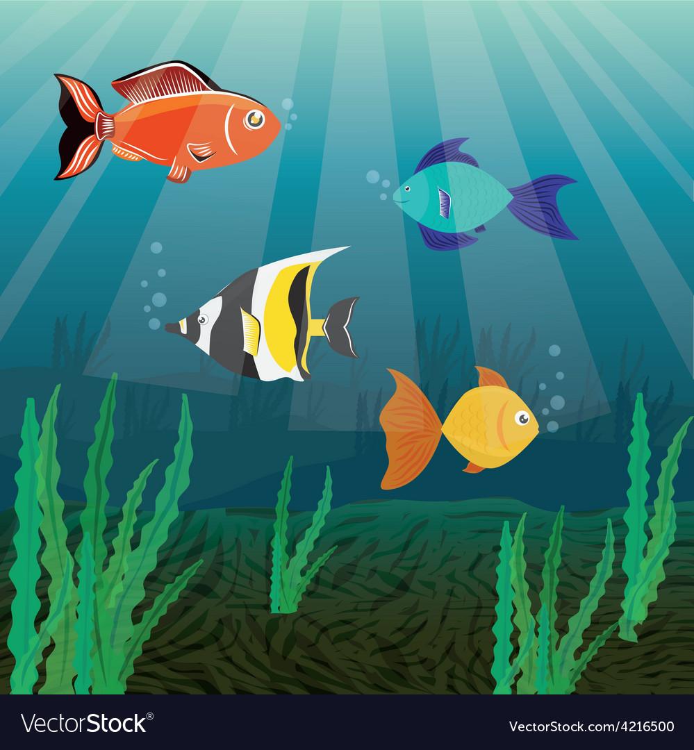 Fish design vector   Price: 1 Credit (USD $1)