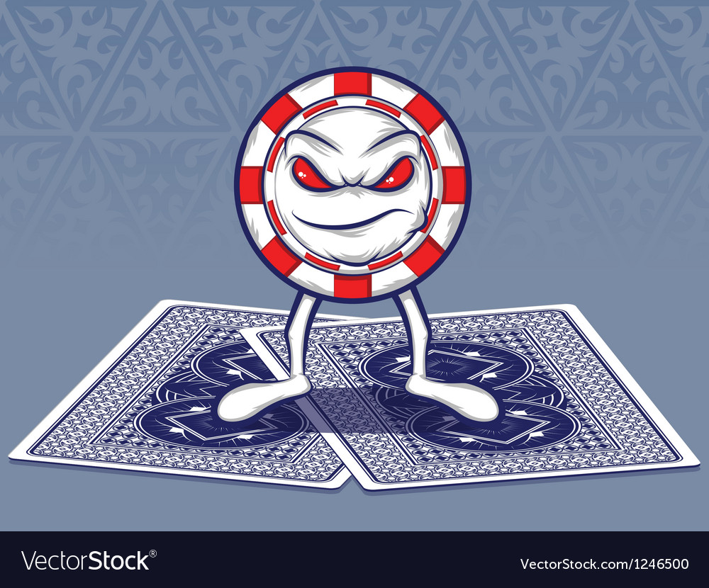 Poker face vector | Price: 3 Credit (USD $3)