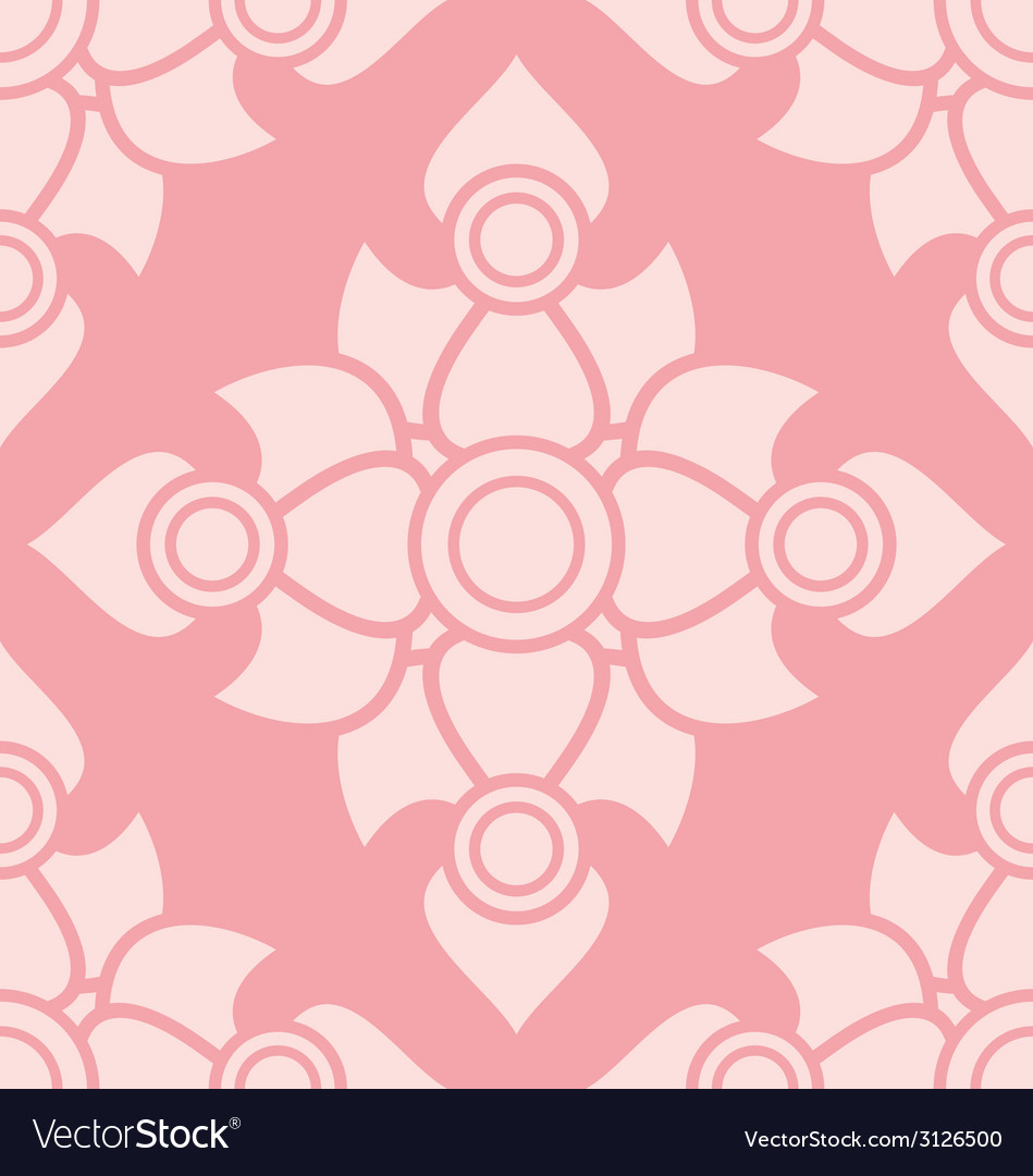 Thai pattern background vector | Price: 1 Credit (USD $1)