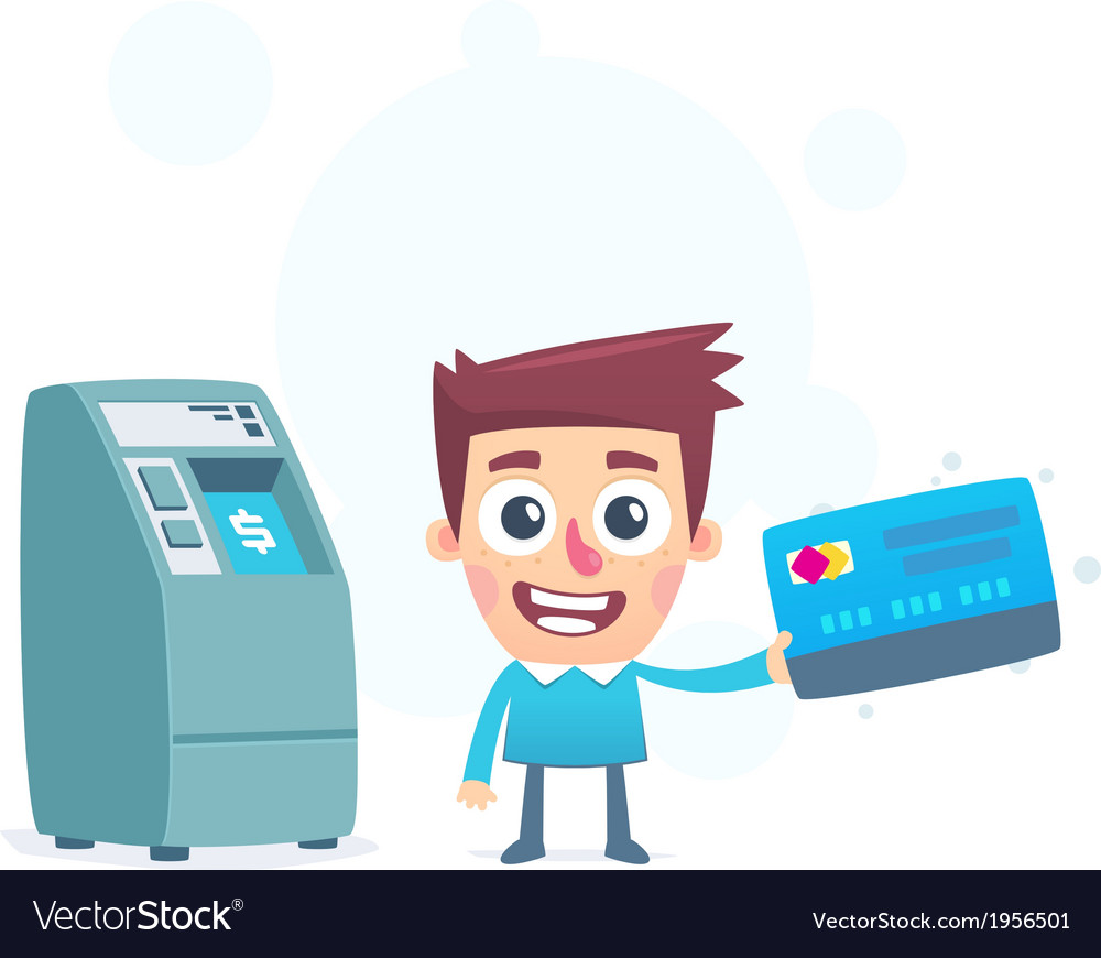 Each credit card has its own atm vector | Price: 1 Credit (USD $1)
