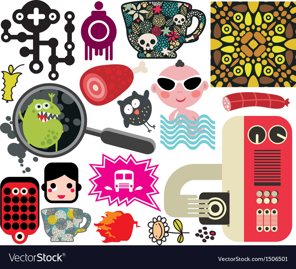 Mix of different images vol59 vector | Price: 3 Credit (USD $3)