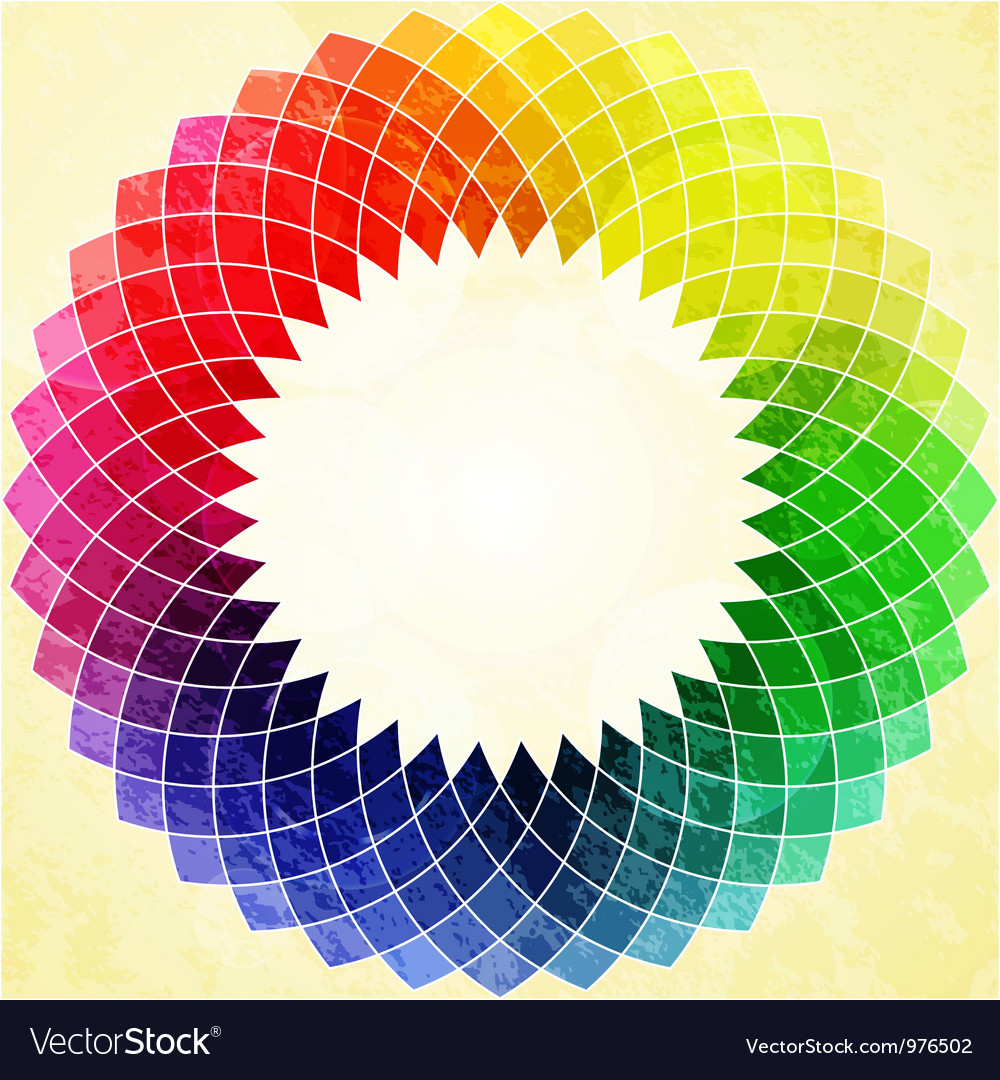 Abstract kaliedoscope flower vector | Price: 1 Credit (USD $1)