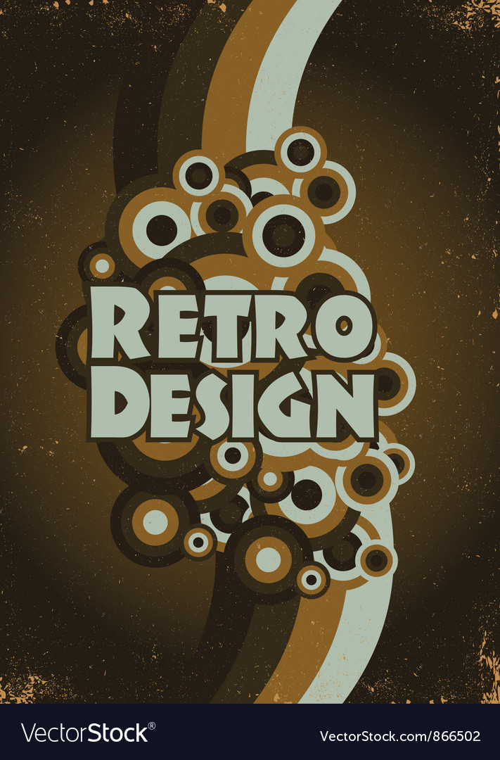 Retro poster vector | Price: 1 Credit (USD $1)