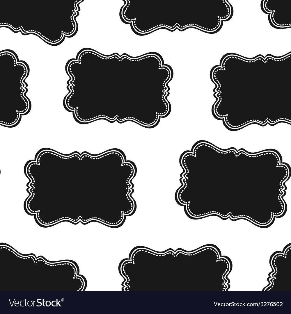 Western labels seamless pattern vector | Price: 1 Credit (USD $1)