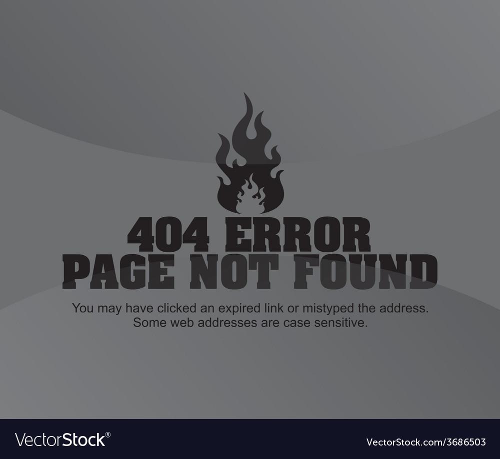 Error page vector   Price: 1 Credit (USD $1)