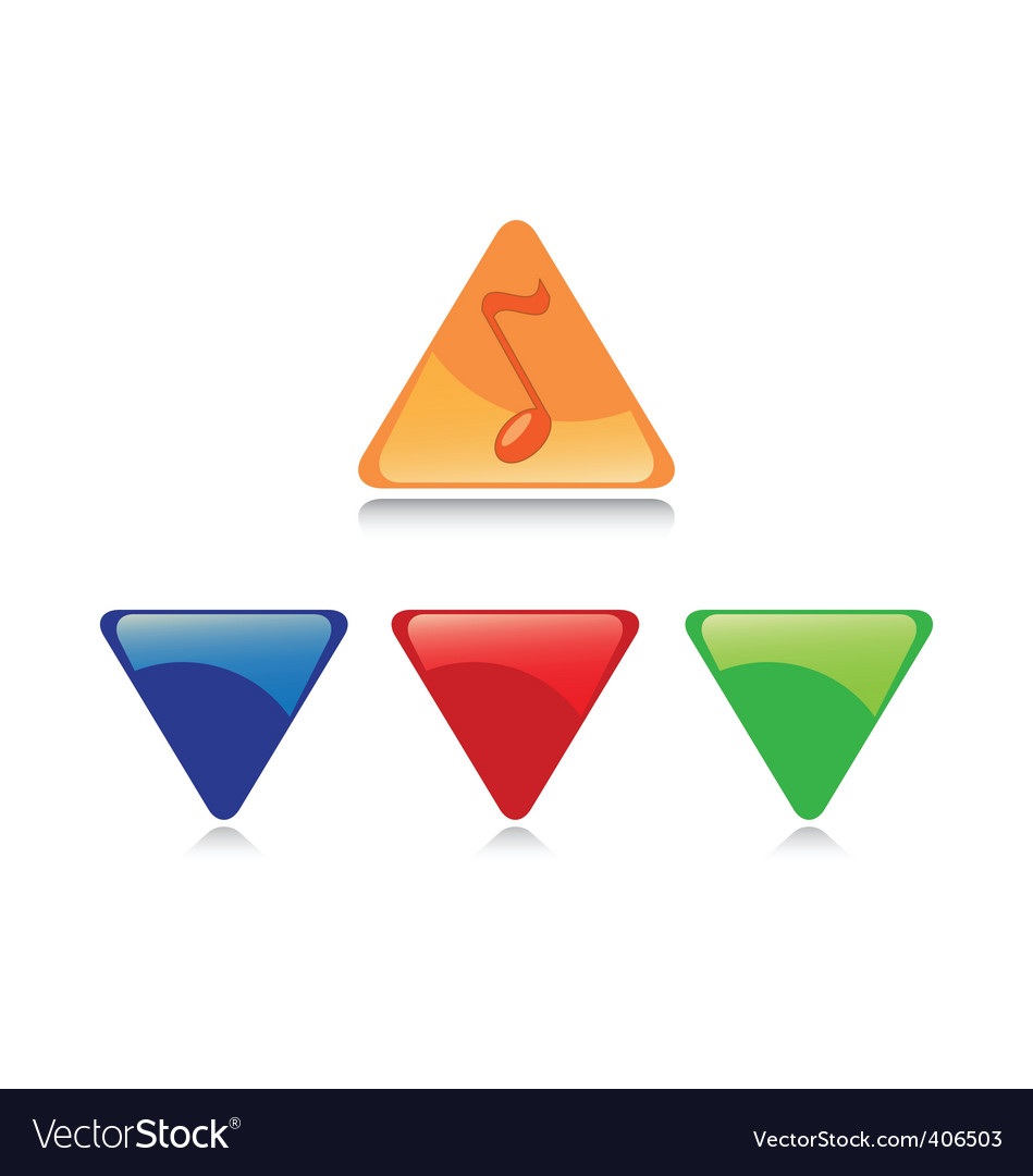 Music color button vector   Price: 1 Credit (USD $1)