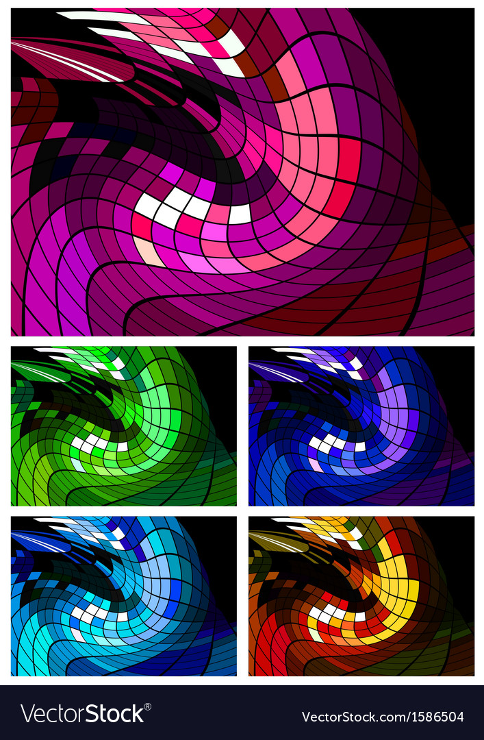 Abstract disco background different colors vector | Price: 1 Credit (USD $1)