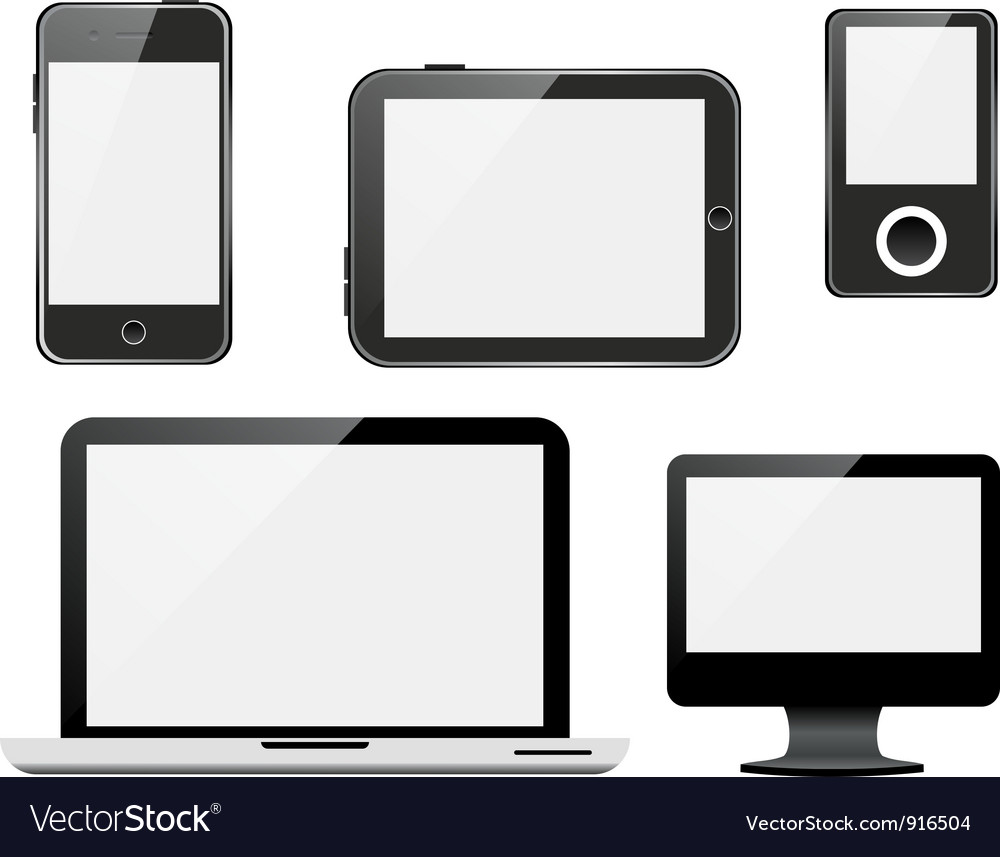 Gadgets vector | Price: 1 Credit (USD $1)