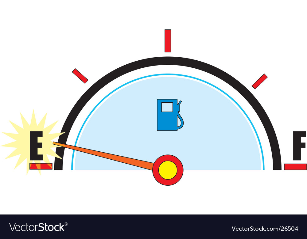 Gas gauge vector | Price: 1 Credit (USD $1)