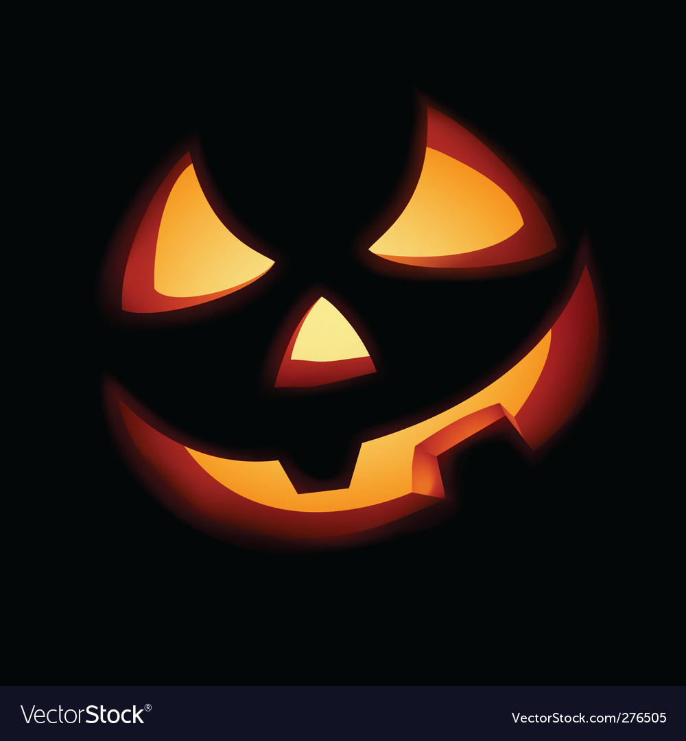A grinning jack o lantern vector | Price: 1 Credit (USD $1)