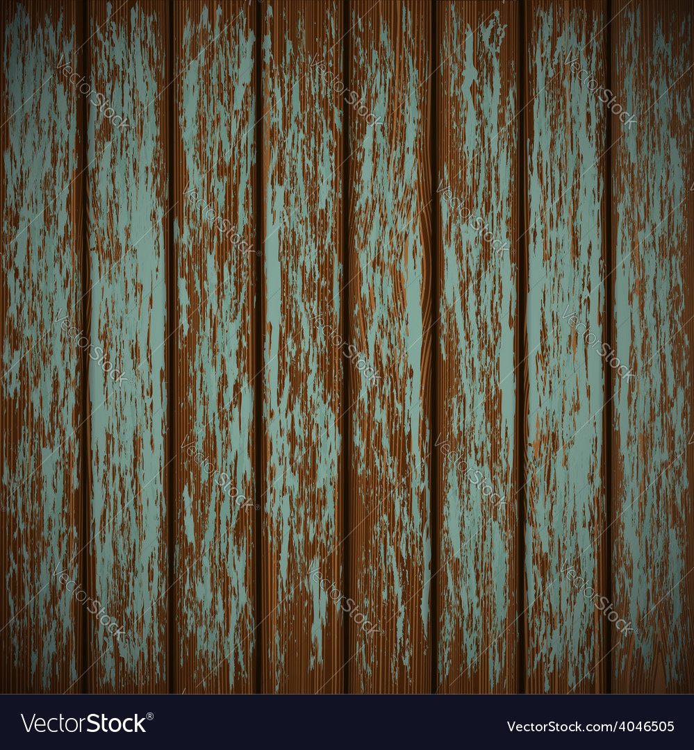 Old wall with shabby paint vector