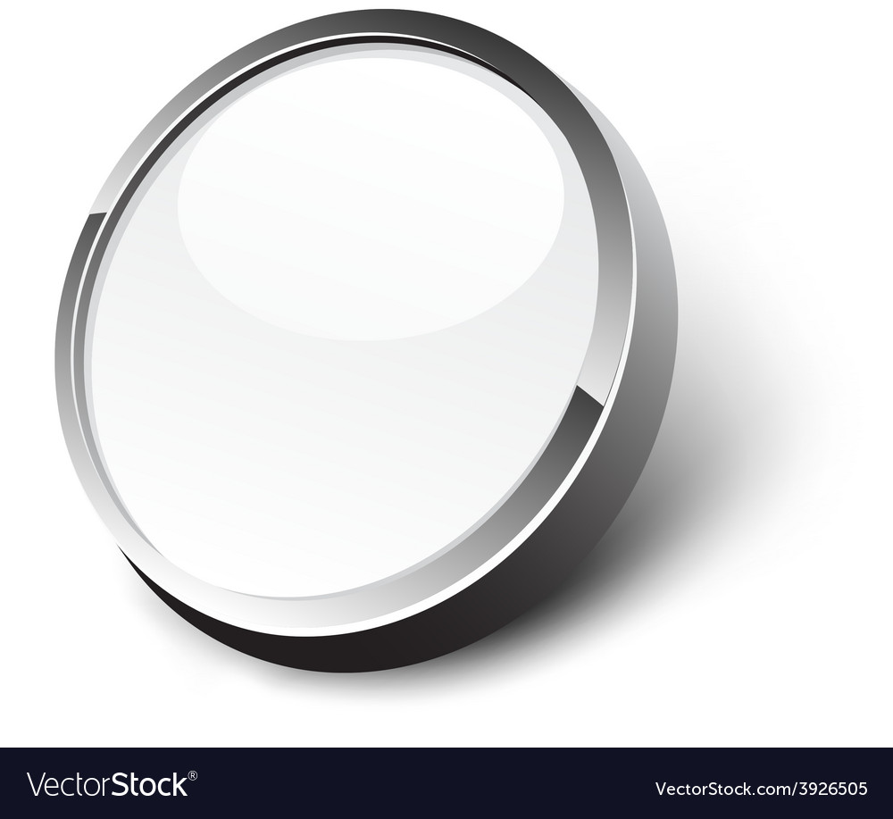 White button vector | Price: 1 Credit (USD $1)