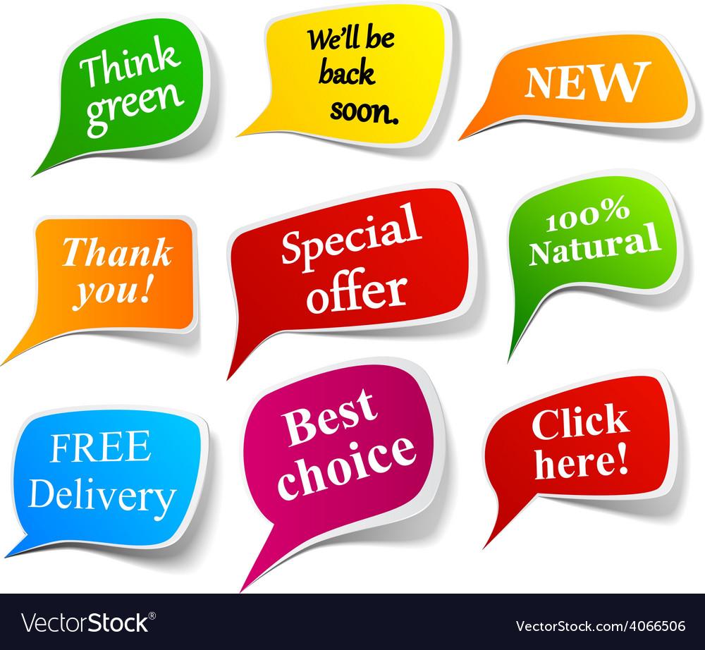 Speech announcement vector | Price: 1 Credit (USD $1)