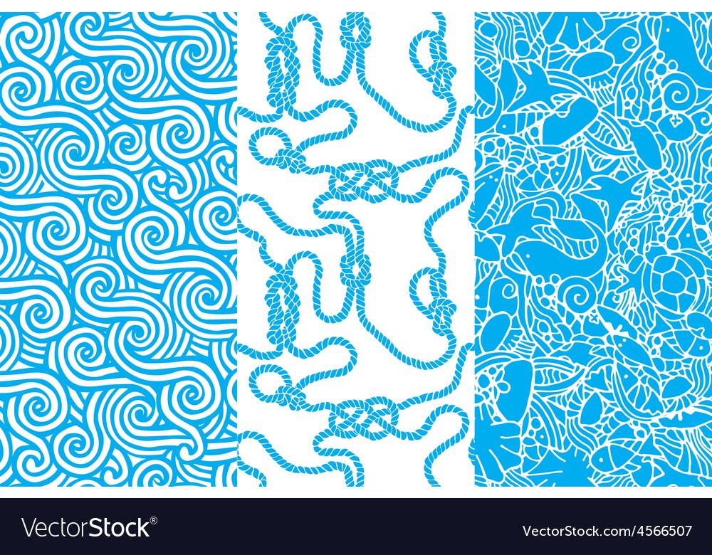 Marine seamless texture vector | Price: 1 Credit (USD $1)