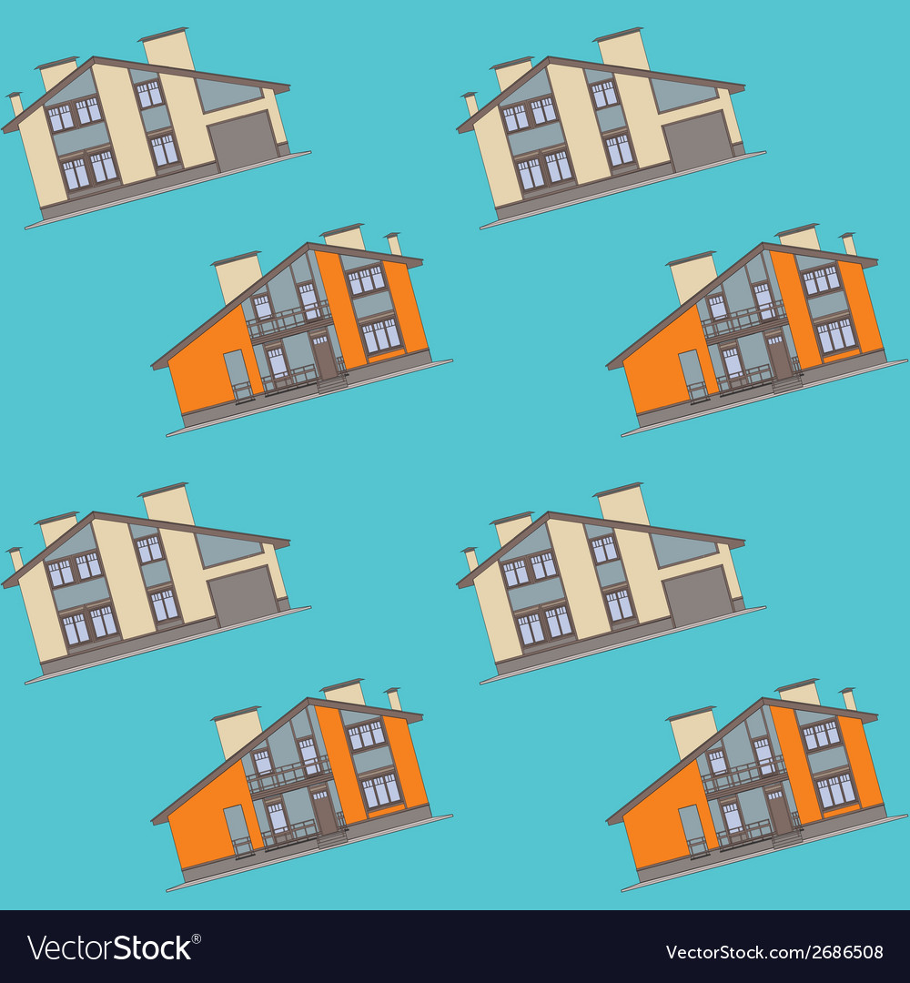 Architectural pattern seamless vector | Price: 1 Credit (USD $1)