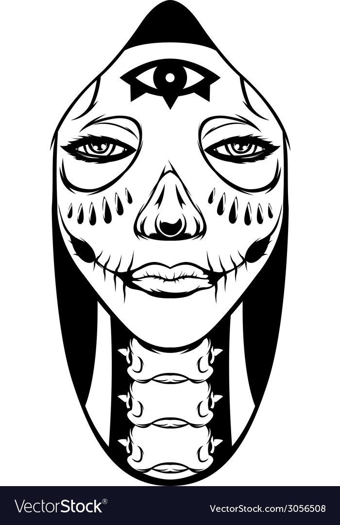 Hood women vector | Price: 1 Credit (USD $1)