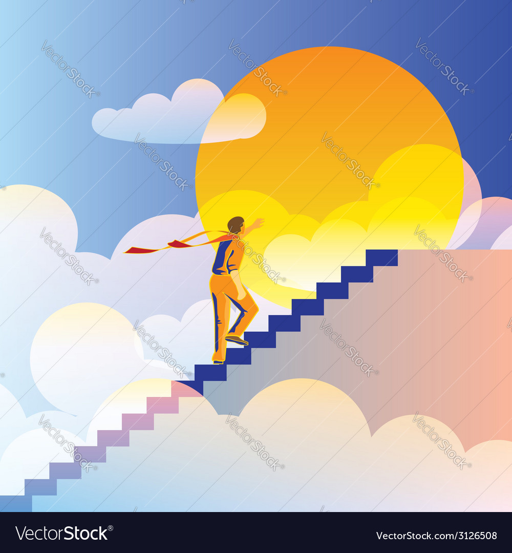 On top of the world vector | Price: 1 Credit (USD $1)