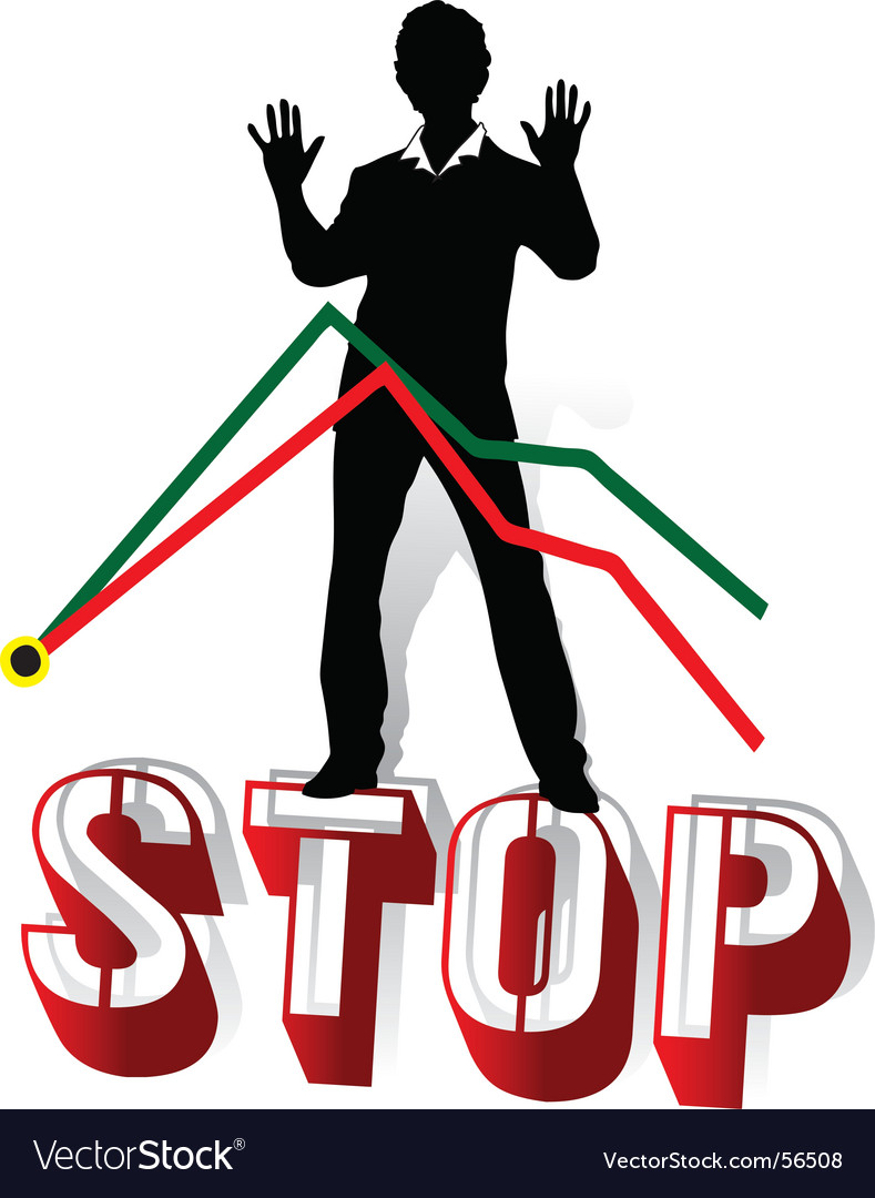 Stop crisis vector | Price: 1 Credit (USD $1)