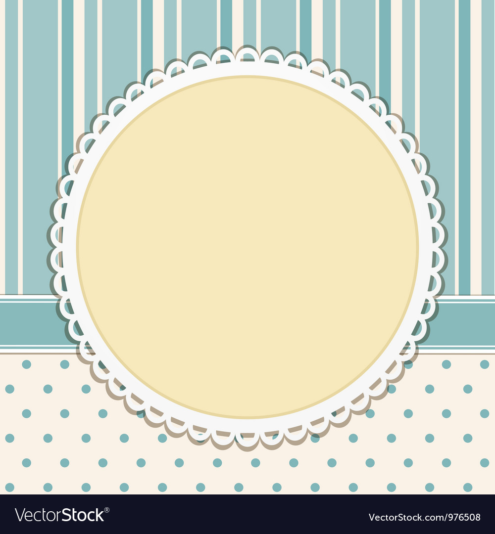 Vintage decorative background vector | Price: 1 Credit (USD $1)