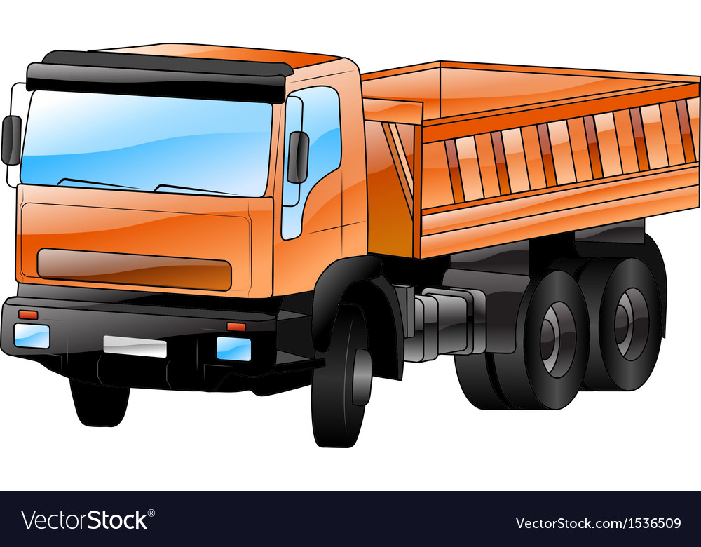 Construction car vector | Price: 3 Credit (USD $3)