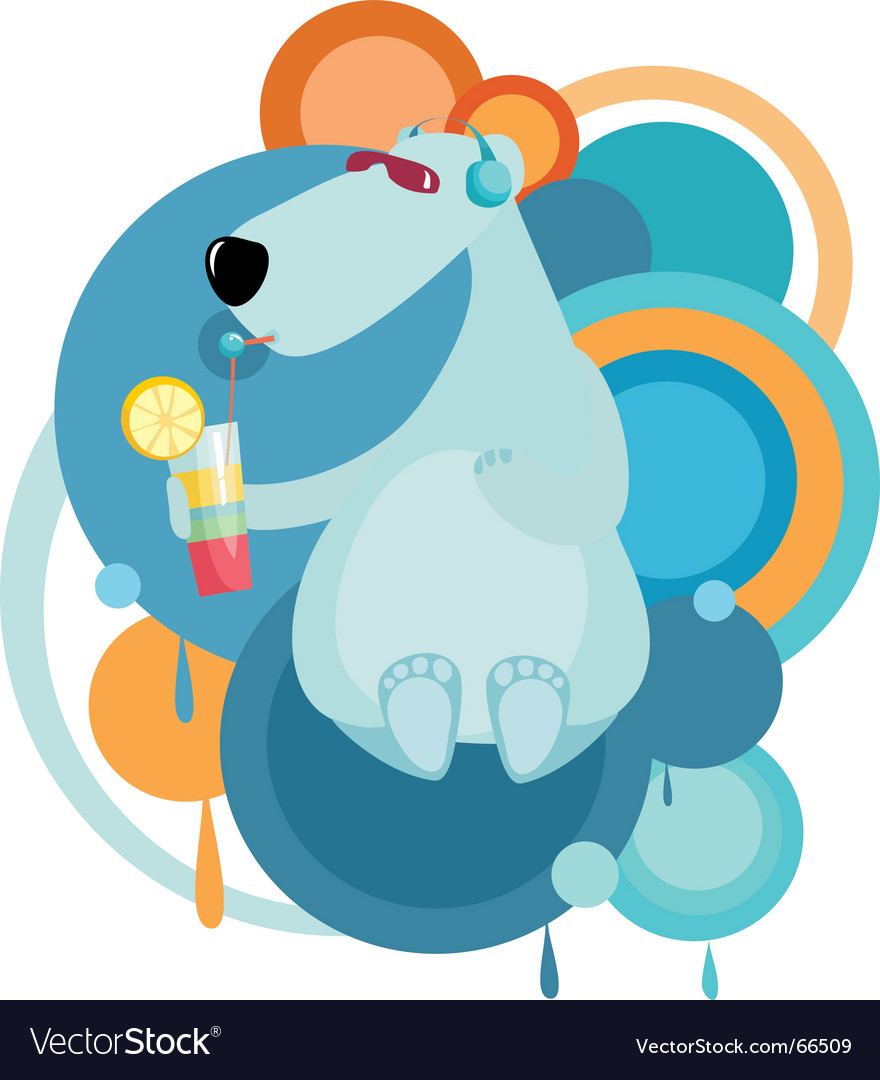 Cool bear vector | Price: 1 Credit (USD $1)