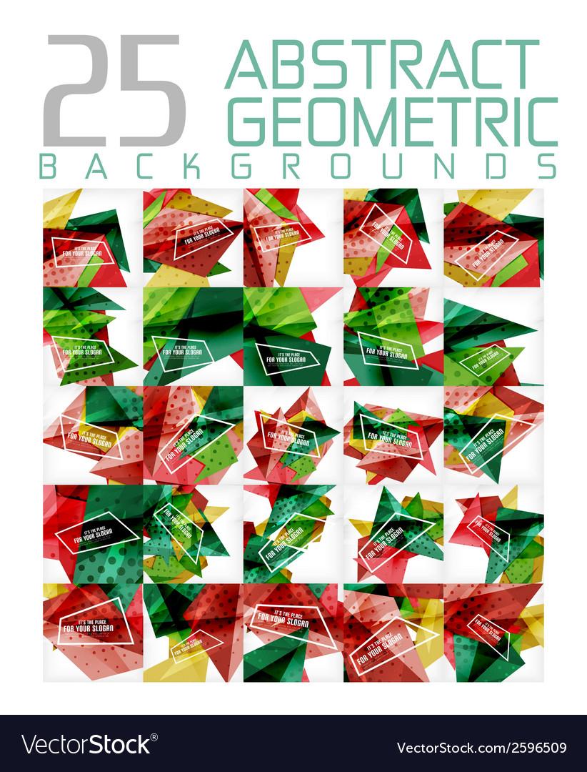 Mega colleciton of futuristic backgrounds vector | Price: 1 Credit (USD $1)