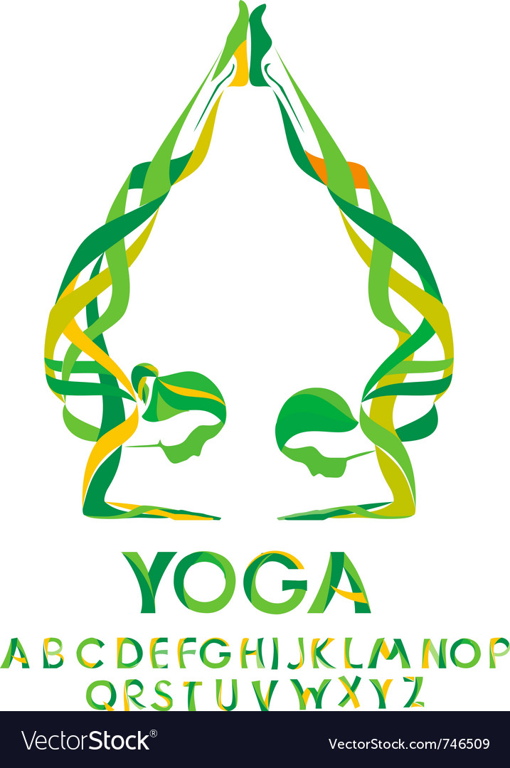Yoga design elements vector | Price: 1 Credit (USD $1)