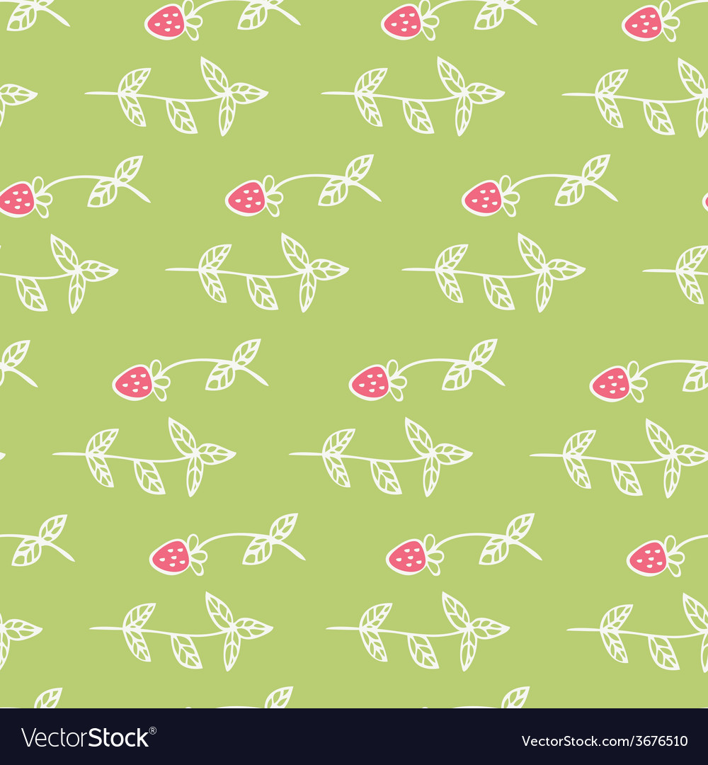 Cute seamless texture with perfect flowers and vector | Price: 1 Credit (USD $1)