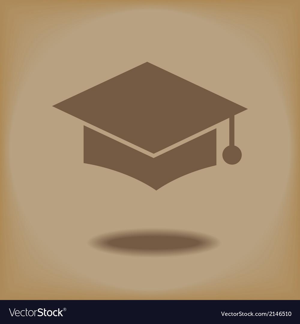 Education cap vector | Price: 1 Credit (USD $1)