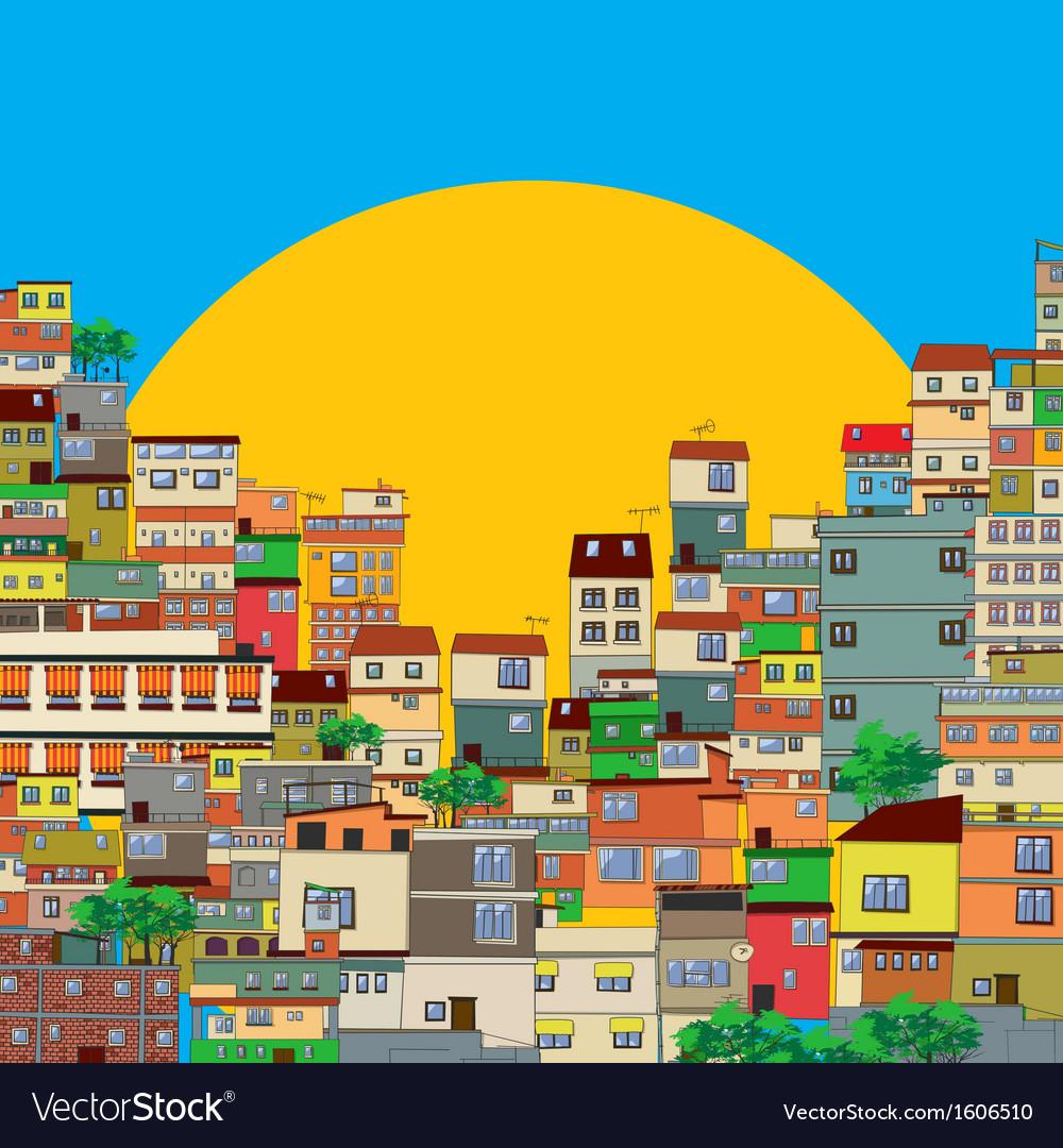 Favela vector | Price: 1 Credit (USD $1)