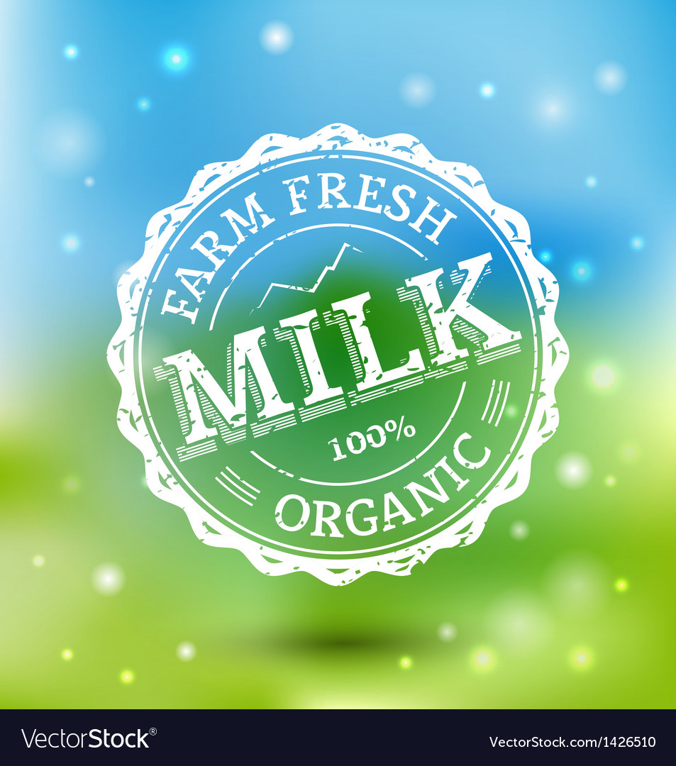 Milk labels vector | Price: 1 Credit (USD $1)