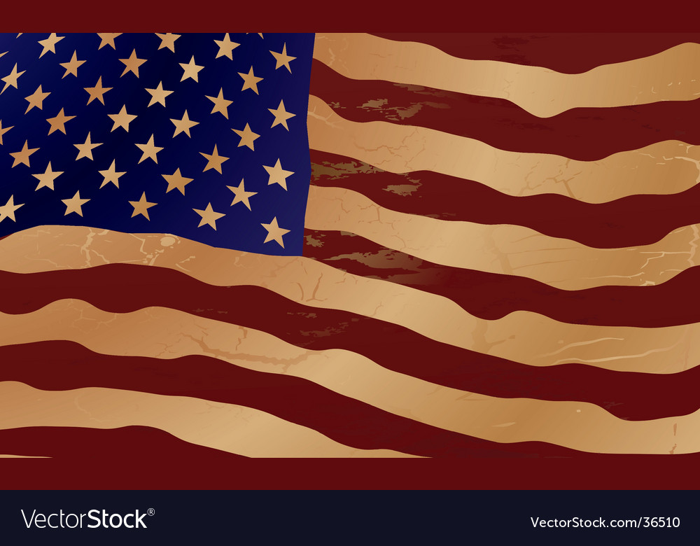 Us ripple flag vector | Price: 1 Credit (USD $1)