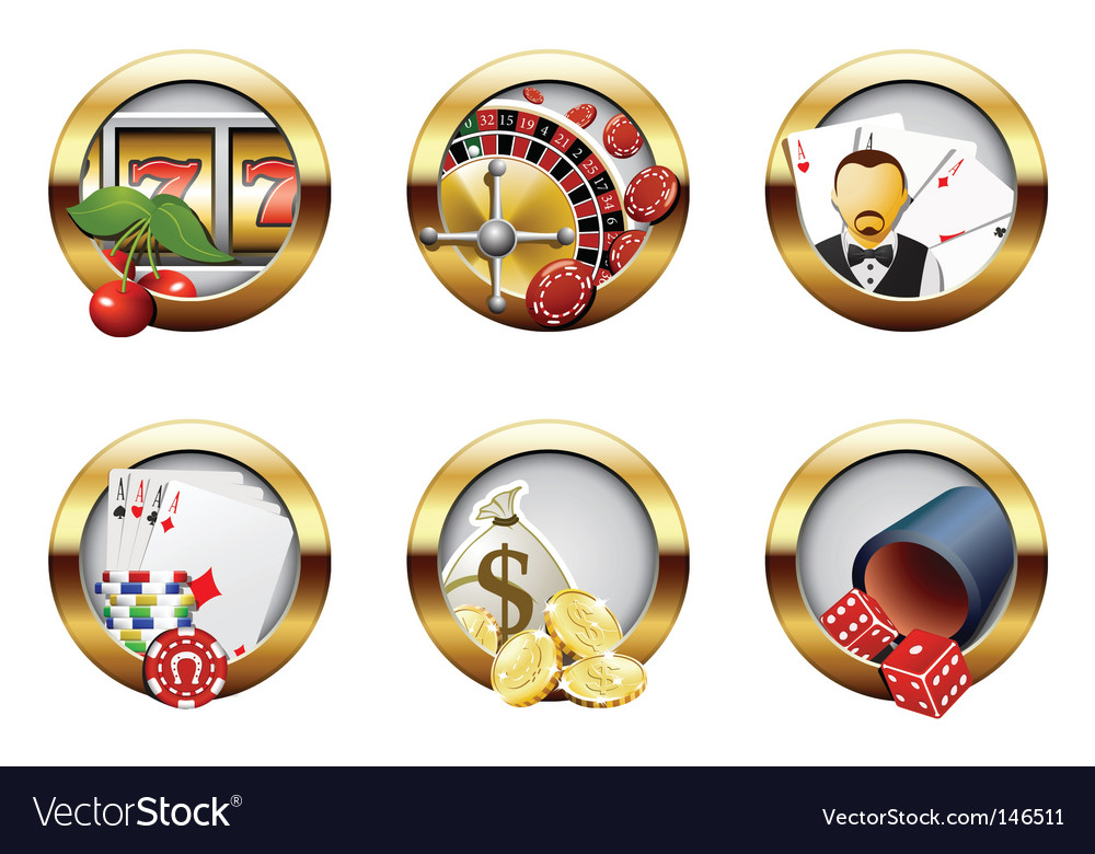 Casino buttons vector | Price: 3 Credit (USD $3)