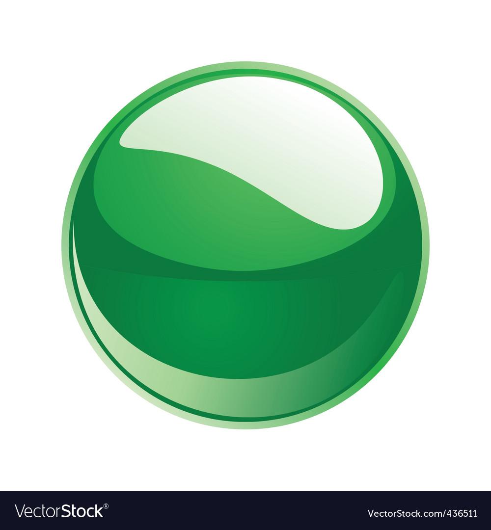Shiny sphere 02 green vector | Price: 1 Credit (USD $1)