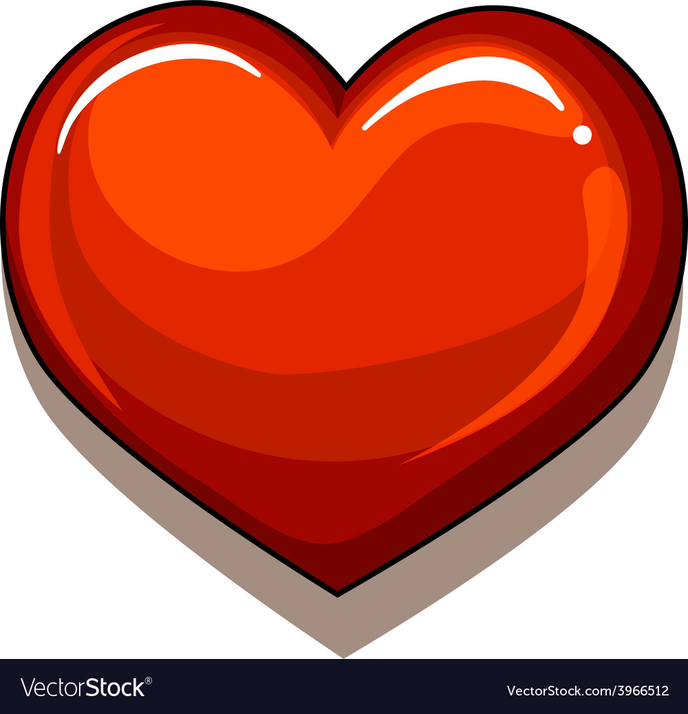 A heart of gold vector | Price: 1 Credit (USD $1)