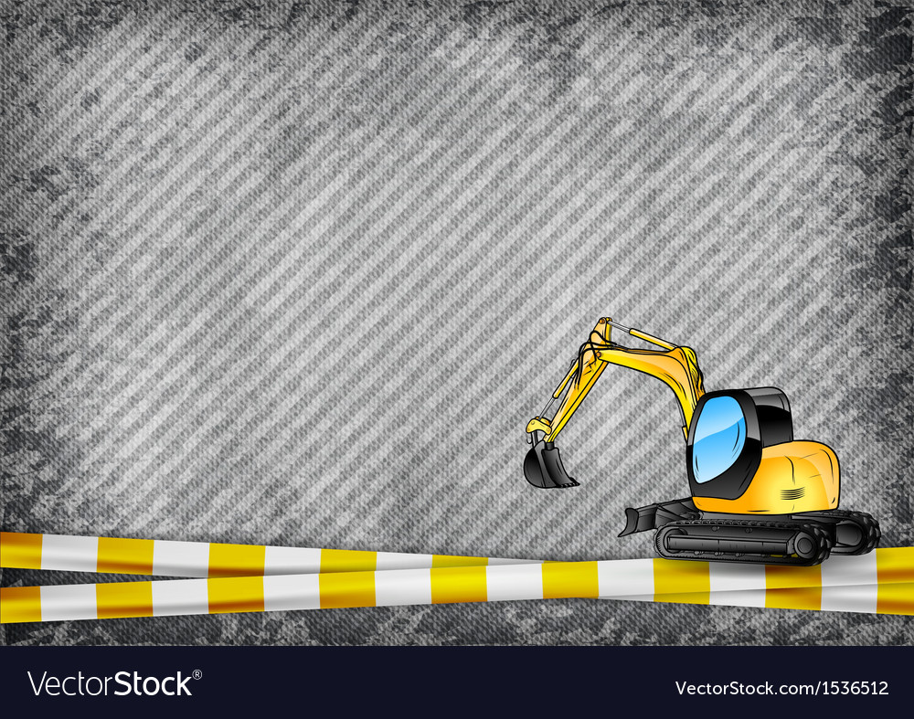 Construction texture with yellow tape and vector | Price: 3 Credit (USD $3)