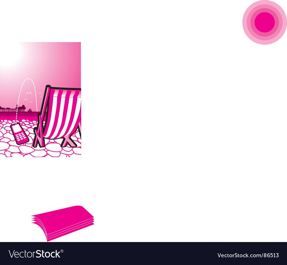 Beach vector | Price: 1 Credit (USD $1)