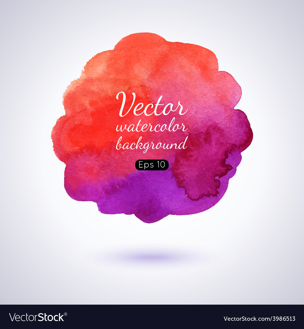 Watercolor splash vector | Price: 1 Credit (USD $1)